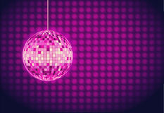 Disco ball. Disco background Stock Photos
