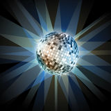 Disco ball. Disco background. Disco ball. Disco abstract background Stock Photography