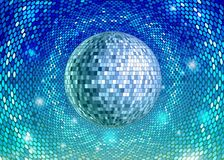 Disco ball. Disco background. Abstract decorative neon disco background royalty free illustration