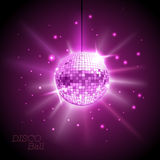 Disco ball. Disco background Royalty Free Stock Photos