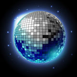 Disco ball. Disco background Stock Image
