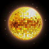 Disco ball. Disco background Stock Images