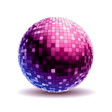 Disco ball. Disco background Royalty Free Stock Image