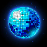 Disco ball. Disco background Royalty Free Stock Photo