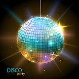 Disco ball. Disco background. Disco ball. Disco neon background Royalty Free Stock Images
