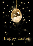 Disco Ball Easter Egg Royalty Free Stock Photography