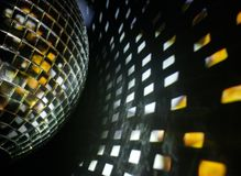 Disco ball effect Stock Image