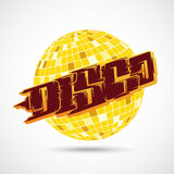 Disco Ball Graffiti Royalty Free Stock Photos