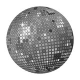 Disco ball grey royalty free stock images