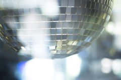 Disco ball in Ibiza house music party night club Stock Photography