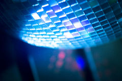 Disco ball in Ibiza house music party nightclub Stock Photos