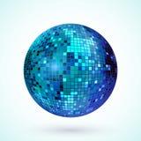 Disco ball icon Stock Photography