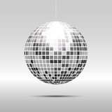 Disco ball icon. Isolated on grayscale background Royalty Free Stock Image