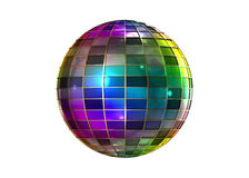 Disco ball isolated Stock Photography