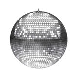 Disco ball isolated on white Royalty Free Stock Photography