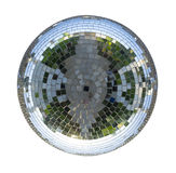 Disco ball isolated. On the white background Royalty Free Stock Photo