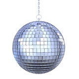 Disco Ball Isolated. On white background. 3D render Stock Photo