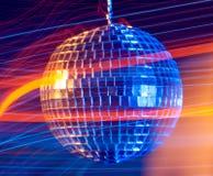 Disco ball light  background Stock Photo