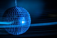 Disco ball light  background Royalty Free Stock Images