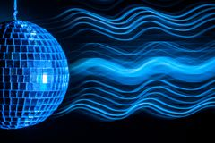 Disco ball light  background Stock Photography