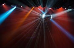 Disco ball light Royalty Free Stock Image