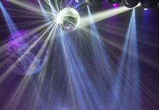 Disco ball light Royalty Free Stock Images