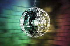Disco ball with lights Royalty Free Stock Photography