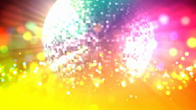 Disco ball loop stock footage