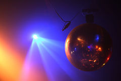 Disco ball in motion Royalty Free Stock Image