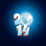 Disco Ball 2014 Stock Photography