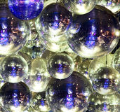 Disco ball at a nightclub. Party lights disco ball at a nightclub Royalty Free Stock Photos
