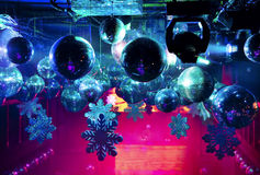 Disco ball at nightclub Stock Photography