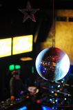 Disco ball at nightclub. Party background. Selective focuse Stock Photography