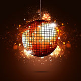 Disco Ball Party Background. Music disco ball abstract bright party bright background Vector Illustration