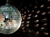 Disco ball reflections Stock Photo