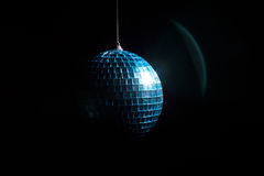 Disco ball in shadow Stock Images