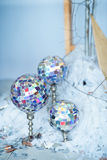 Disco ball on a stand Royalty Free Stock Photo