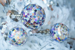 Disco ball on a stand Stock Photo