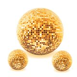 Disco ball in various colors  illustration Royalty Free Stock Images