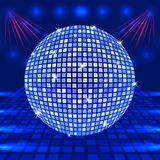 Disco ball vector Royalty Free Stock Photo