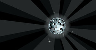 Disco ball - vector illustration Stock Image