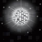 Disco ball vector illustration. Rgb mode Stock Photo