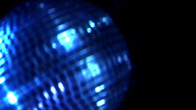 Disco Ball 1. Vibrant Lights Reflecting on a Spinning Disco Ball stock video