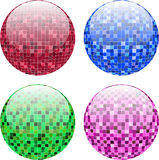 Disco balls Stock Photography