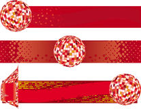 Disco banners Royalty Free Stock Photo