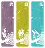 Disco banners royalty free illustration
