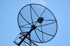 Disco basado en los satélites Fotos de archivo libres de regalías