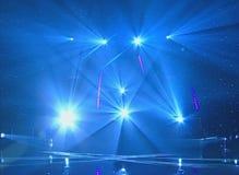 Disco beleuchtet Hintergründe stock abbildung