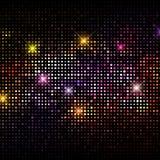 Disco beleuchtet Hintergrund Stockfoto