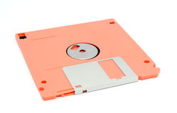 Disco blando Fotos de archivo libres de regalías